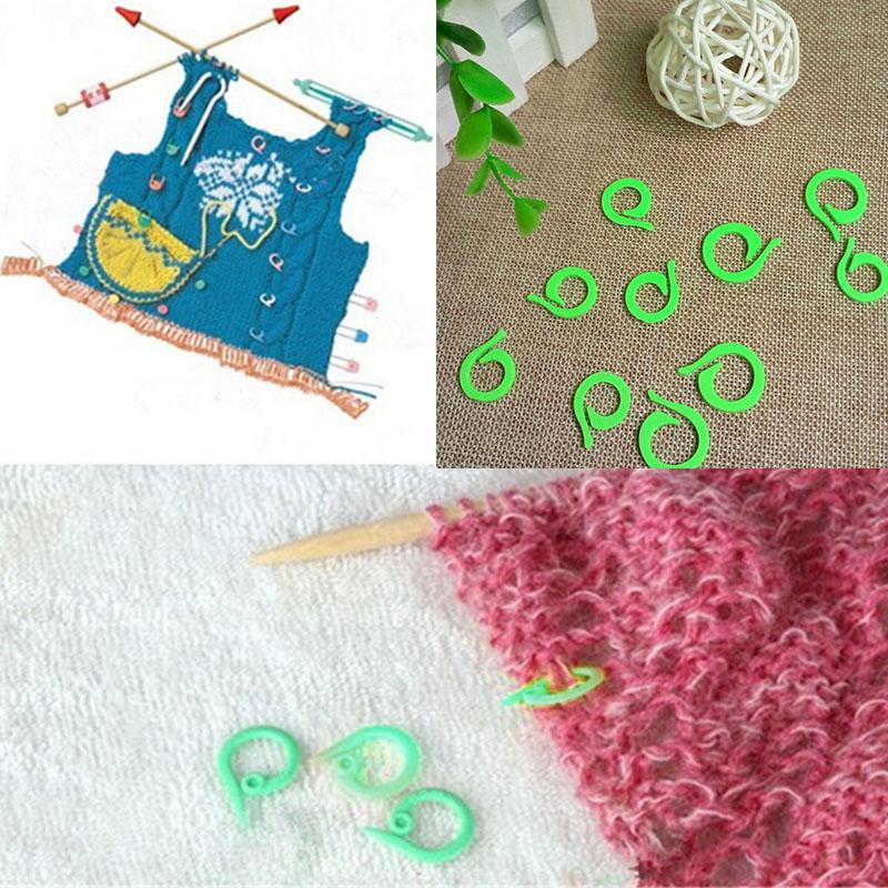Knitting Locking Stitch Markers : Cute Knitting Crochet Craft Locking Stitch Markers Holder Needle Clip Sewing ...