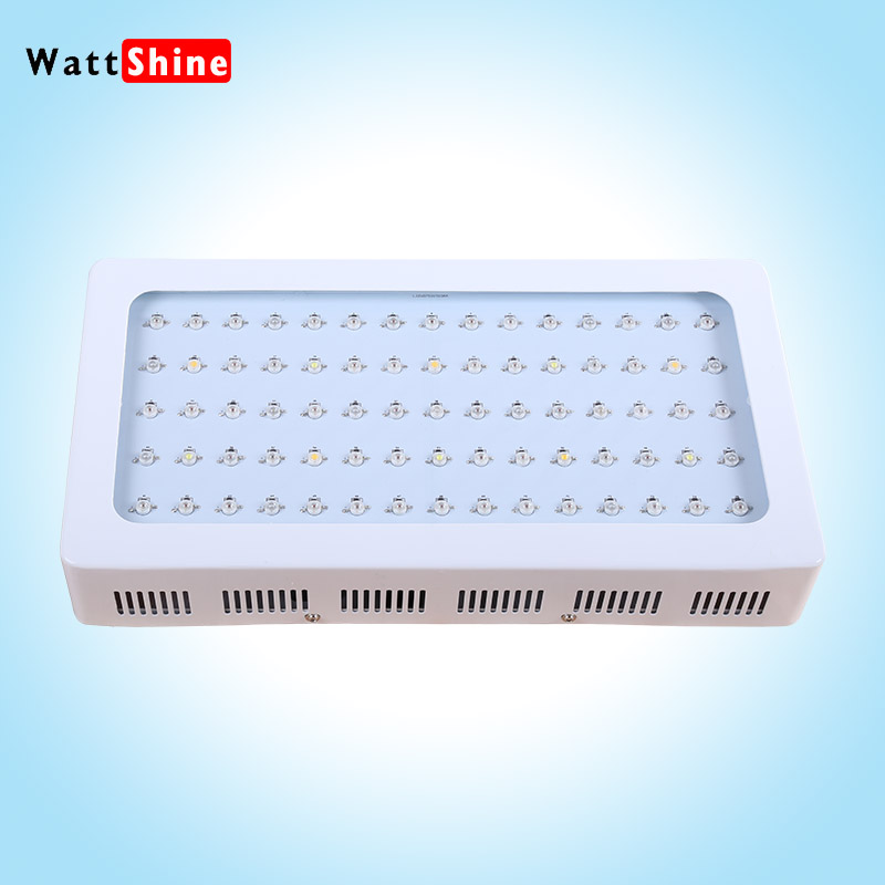 75X3W Led Grow Lights White panel light Flower growing Seedling cultivation 3W Led plant lamps indoor Greenhouse Sunshine supply(China (Mainland))