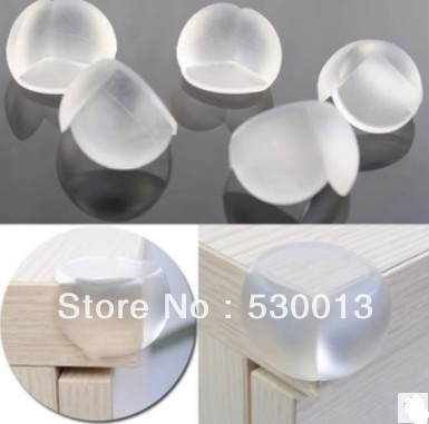 30pcs/lot Desk/Table Corner Cover Angle Bead Round Covers Kid Care Products Baby Safety Products Anticollision Pad Free Shipping(China (Mainland))