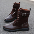 Size 39 44 Mens Fashion Martin Boots Genuine Leather Shoes Men s Ankle Black Spring Booties