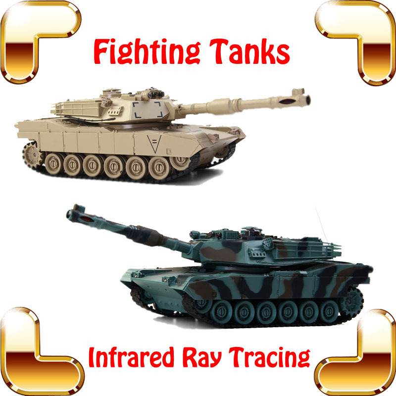 New Coming Gift COLLIDE USA M1A2 Battle Shooting Tanks 8 Channel 1/24 RC Tank Infrared Ray System Tank War Game 320 Rotate Gun(China (Mainland))