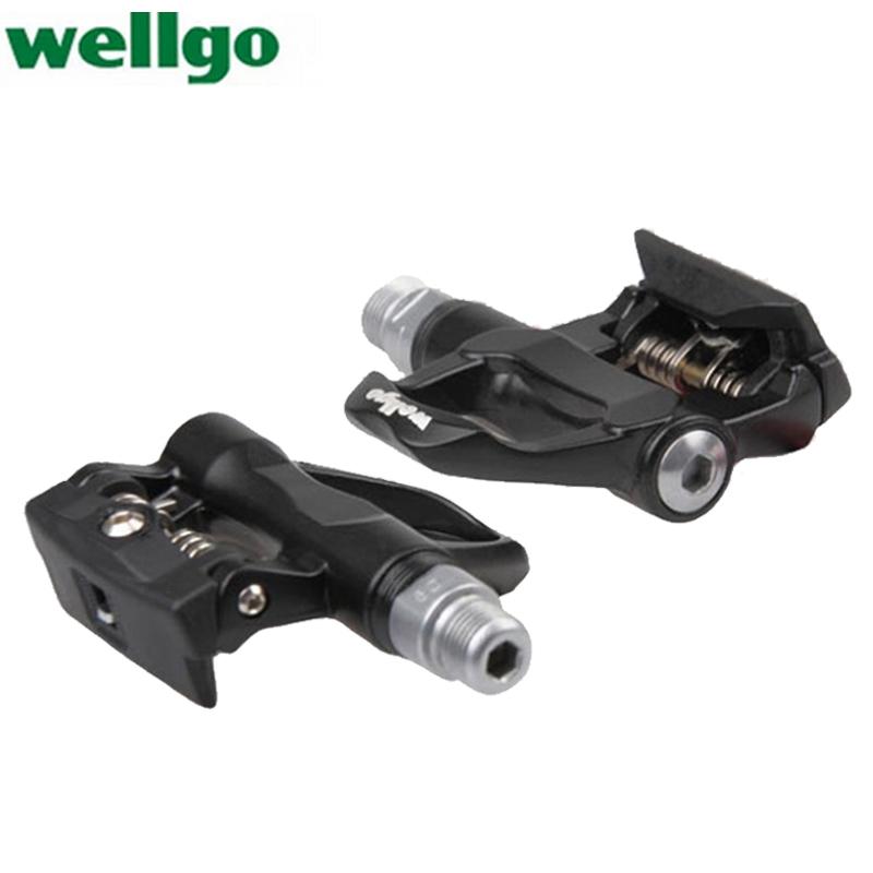 Wellgo R096 R096B Cycling Self-Locking Pedal Road Bike bicycle Locking Pedal for SHIMANO road bike bicycle pedal r540<br><br>Aliexpress