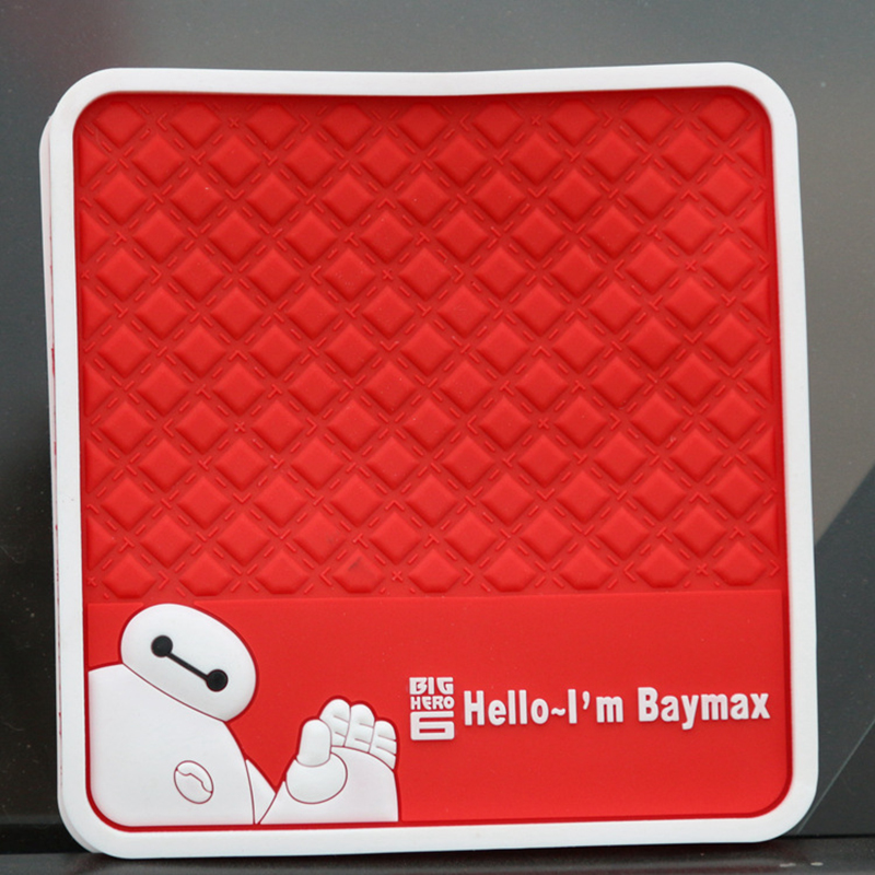 Lovely Big Hero 1Pcs/Set Non Slip Car Sticky Anti-Slip Mat Magic Sticky Automobiles Interior Accessories Use for Most Cars(China (Mainland))