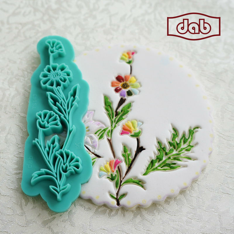 Christmas Cake Decoration Molds : DAB Impression cookie cutters cake mold decorating baking ...