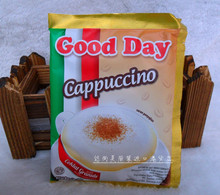 Indonesia imported GOOD DAY GOOD CAPPUCCINO CAPPUCCINO 3 in 1 instant coffee 750 g free shipping