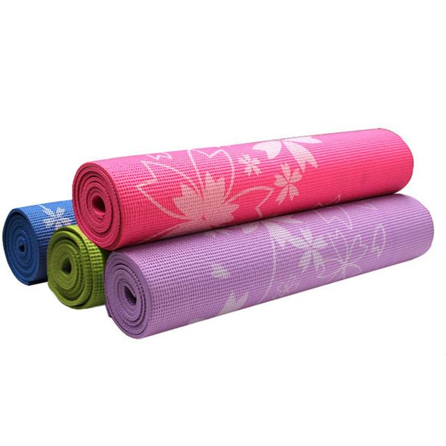 Floral Printed Yoga Mat