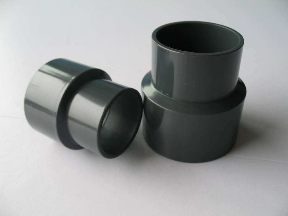 Thermoplastic pipe fittings upvc reducer coupler