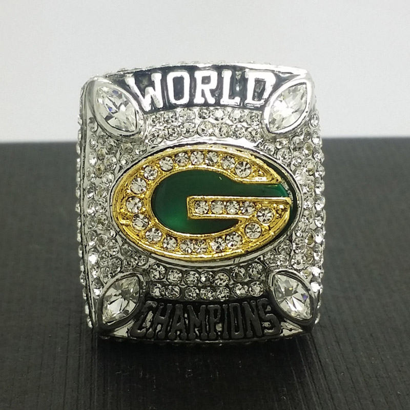 2010 Green Bay Pakcers Football Super Bowl World Championship Ring 11 Size 'Rodgers' Fans Best Solid Back Gift - ring store