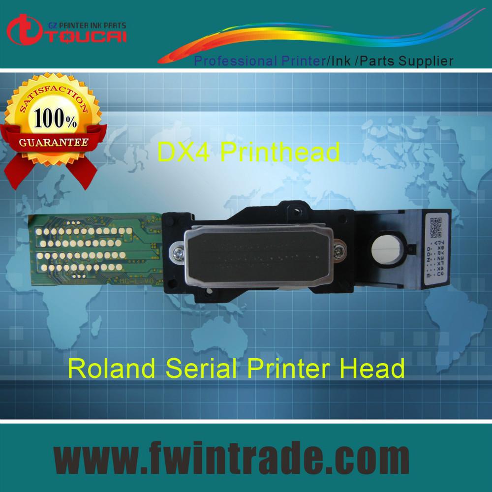 100% original for epson dx4 print head mimaki jv3 roland rs xj sc sp vp xc sj fj 300 540 640 740 545 645 solvent dx4 printhead(China (Mainland))