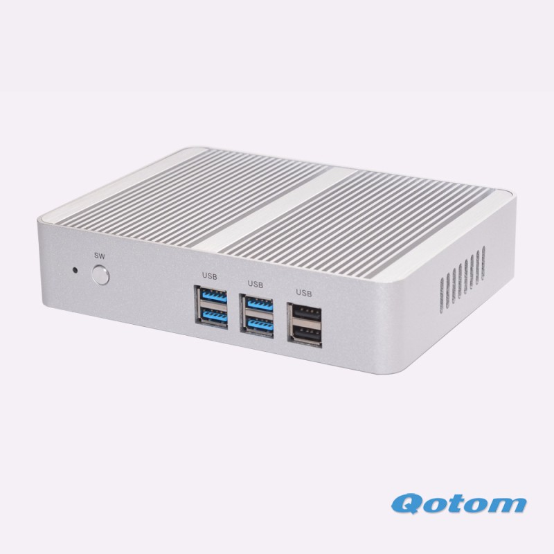 Quad core 12V Linux ubuntu Living room X86 Industrial computer Fanless Mini pc N3150 Dual display Desktop computer Win 10(China (Mainland))