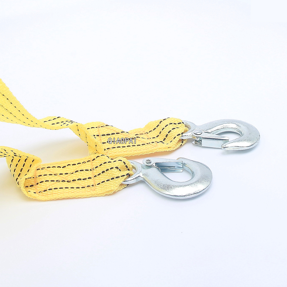 3M 3tons steel hook Car Emergency Towing Rope towing bar Tug Rope Traction String cross country vehicle truck equipment
