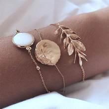 30 סגנון Boho צמיד פיל לב מעטפת כוכב ירח קשת מפת קריסטל חרוז צמיד נשים קסם מסיבת חתונה תכשיטי אבזרים(China)