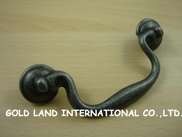 100mm Free shipping zinc alloy cabinet drawer cupboard wardrobe pull knob handle