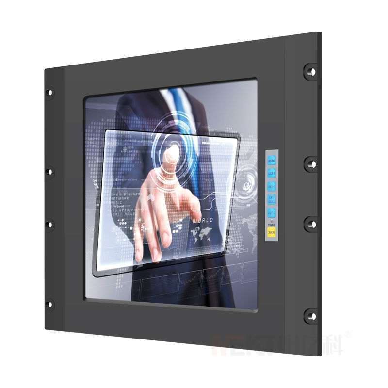 15 inch touchscreen monitor high brightness computer monitor the control cabine touch screen LED monitor(China (Mainland))