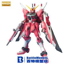 Genuine BANDAI MODEL 1/100 SCALE Gundam models #156649 ZGMF-X19A INFINITE JUSTICE GUNDAM plastic model kit