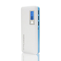 DCAE Power bank 12000mAh 3 USB Lcd External Battery Pack 18650 Powerbank Portable Charger For All