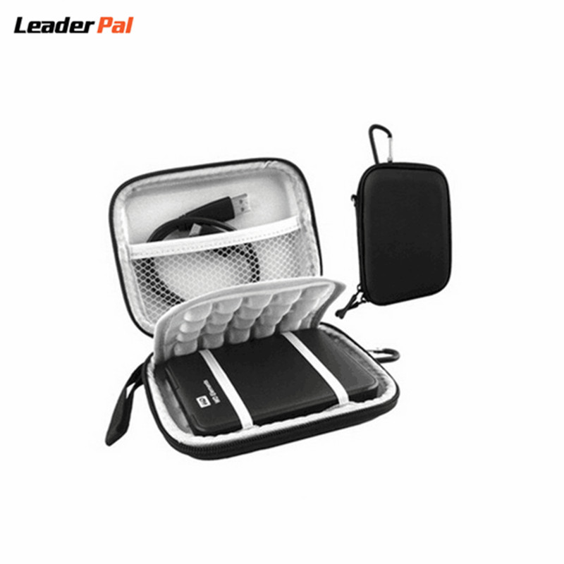 Protective Hard Shockproof Bag for 2.5 inch Western Digital WD Seagate Toshiba 1TB 2TB USB 3.0 External Hard Drive Travel Bags(China (Mainland))