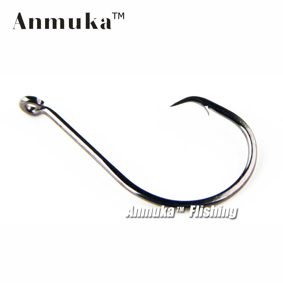 Anmuka Brand 10pc Fishing Hook Sport Circle Hook Single