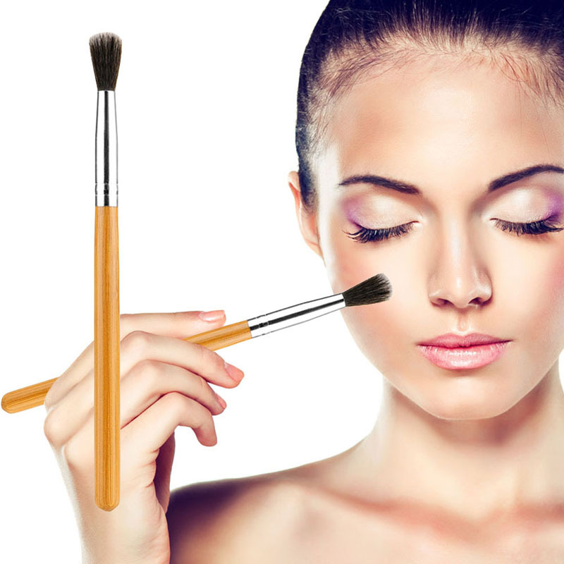 High Quality Pro Makeup Tool Cosmetic Bamboo Handle Dome Blending Eyeshadow Eye Brush FE#8(China (Mainland))