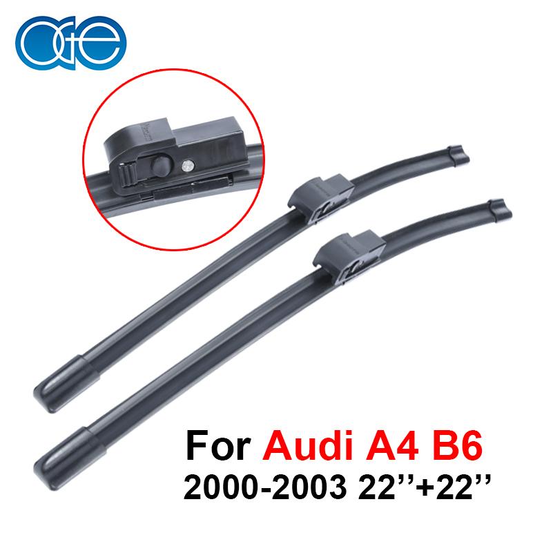 מוצר Oge Pair Windscreen Wiper Blades For Audi A4 B6
