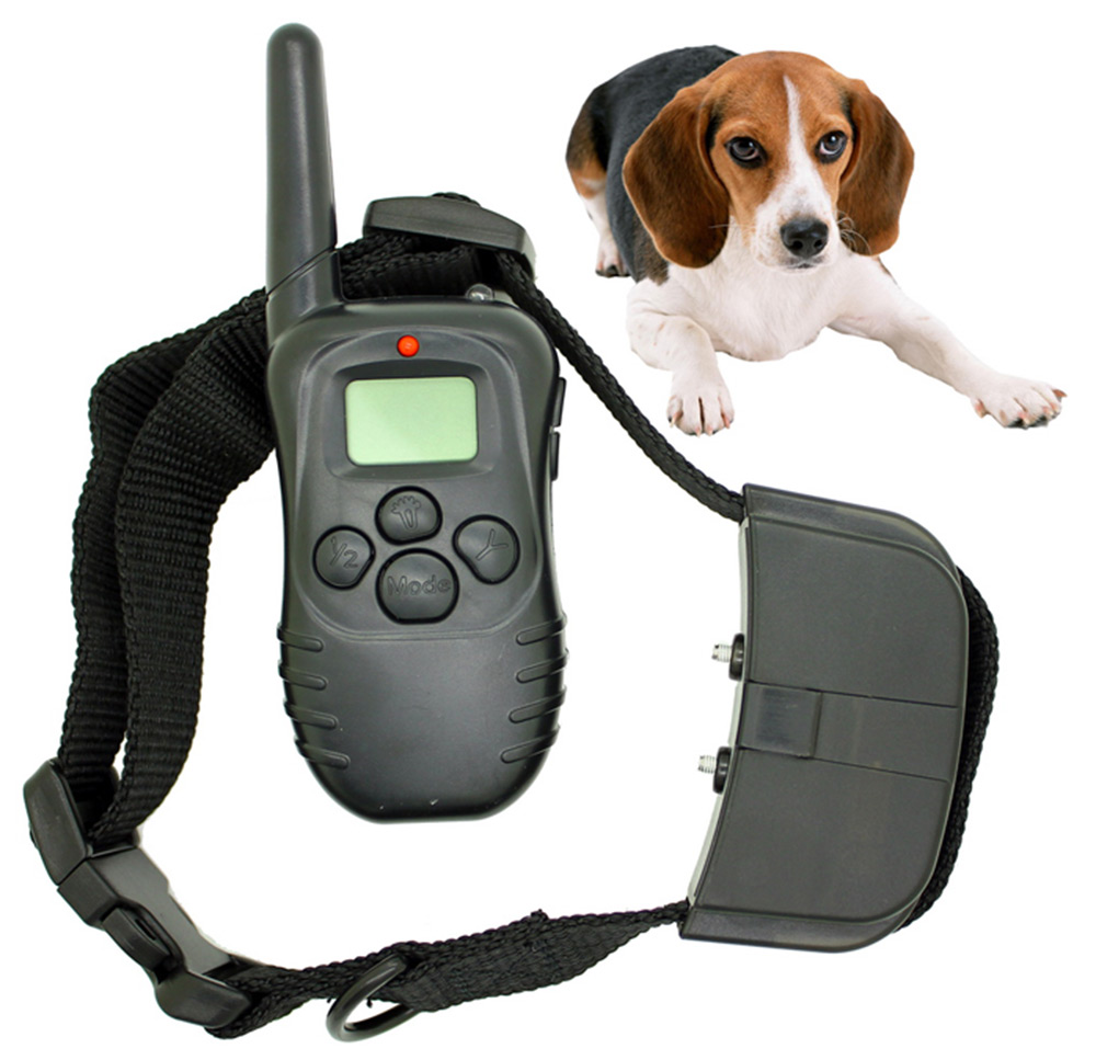 New Arrival Waterproof And Adjustable 998D Electronic Dog Collar Remote Control No Shock Pet Training Collar With LCD Display(China (Mainland))