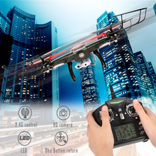 JJRC V686K WIFI FPV Helicopter Drone Auto Return 2.4G Control Headless With LED+0.3MP HD Camera Quadcopter Helicoptero RTF