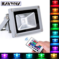 10W 20W 30W 50W RGB LED Flood Light COB Exterior Spotlight IP65 LED Outdoor Light Reflector