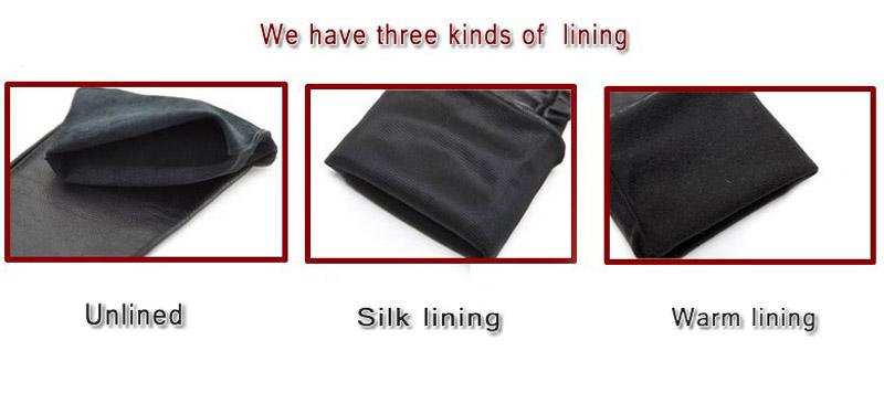 three lining
