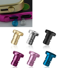 The new high-grade metal dust plug dust plug universal mobile phone models for iphone Samsung Xiaomi Huawei
