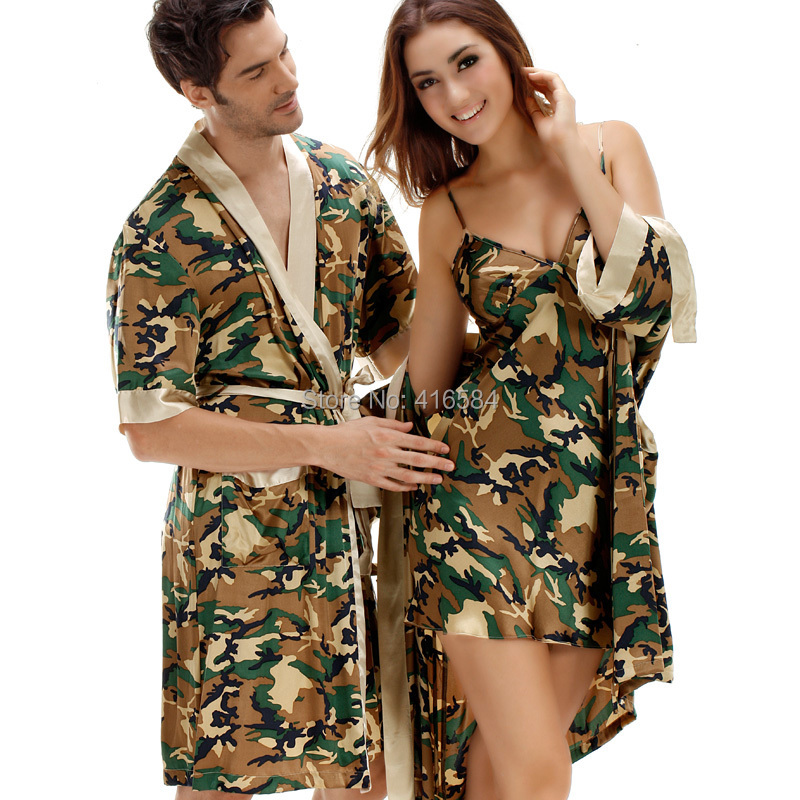 pajama suit Picture - More Detailed Picture about Men's Satin Robe ...