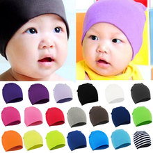 2015 Newborn spring winter New Unisex Baby Boy Girl Toddler Infant colorful Cotton Soft Cute Hat