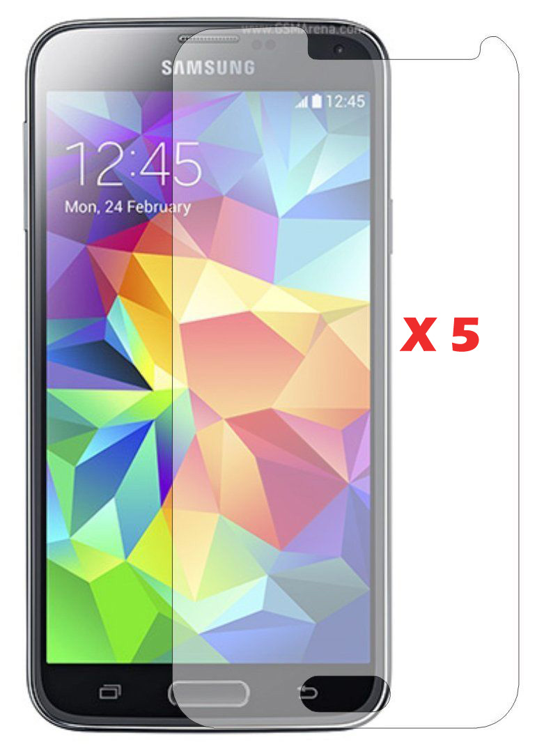 Clear S5 Screen Protector Samsung i9600 Protective Film Hight Quanlity Without Retail Package - Sunseai Official Store store