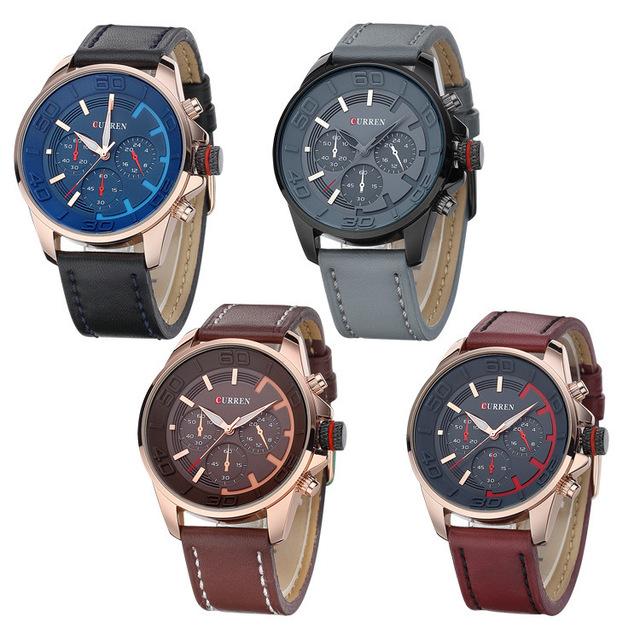 Zegarek męski CURREN sportowy wojskowy styl różne kolory