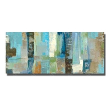 Buy Free Hand Painted Abstract Oil Painting Canvas Wall Picture Living Room Modern Painting Pictures Framed for $13.60 in AliExpress store