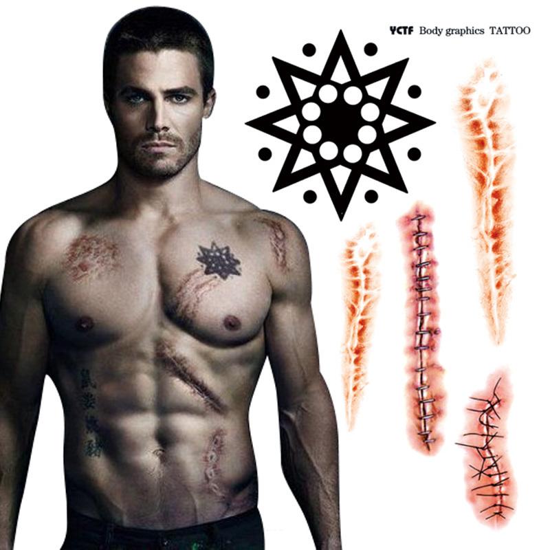 Chest Temporary Tattoos