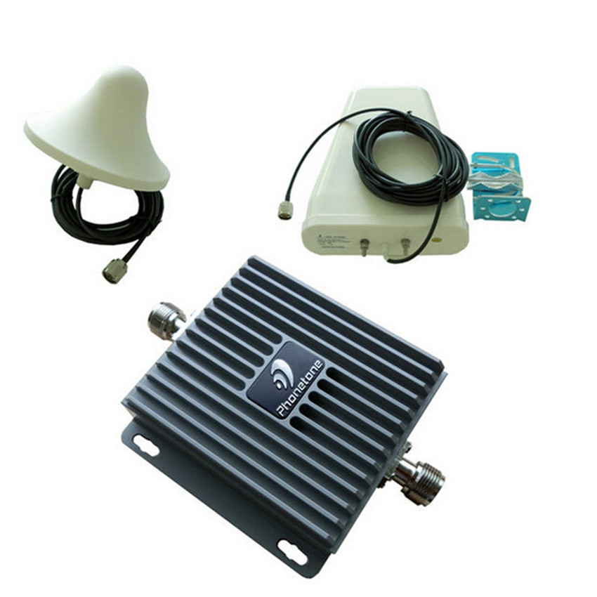 hw8050 cell phone booster 850 1900Mhz mobile signal booster wireless repeater dual band gsm 3g wifi booster amplifier(China (Mainland))