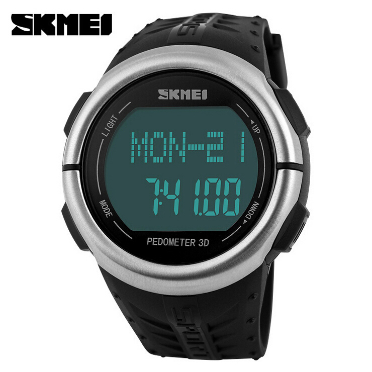 fitness sports watches pedometer rate