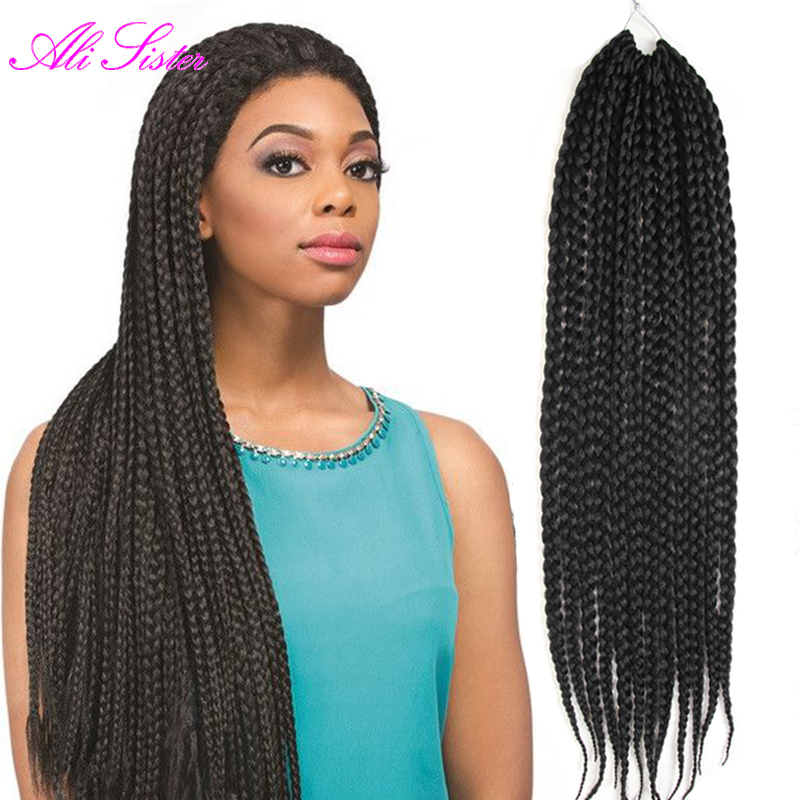 Crochet Box Braids Jumbo : box braids hair crochet twist hair jumbo hair extension for braids ...