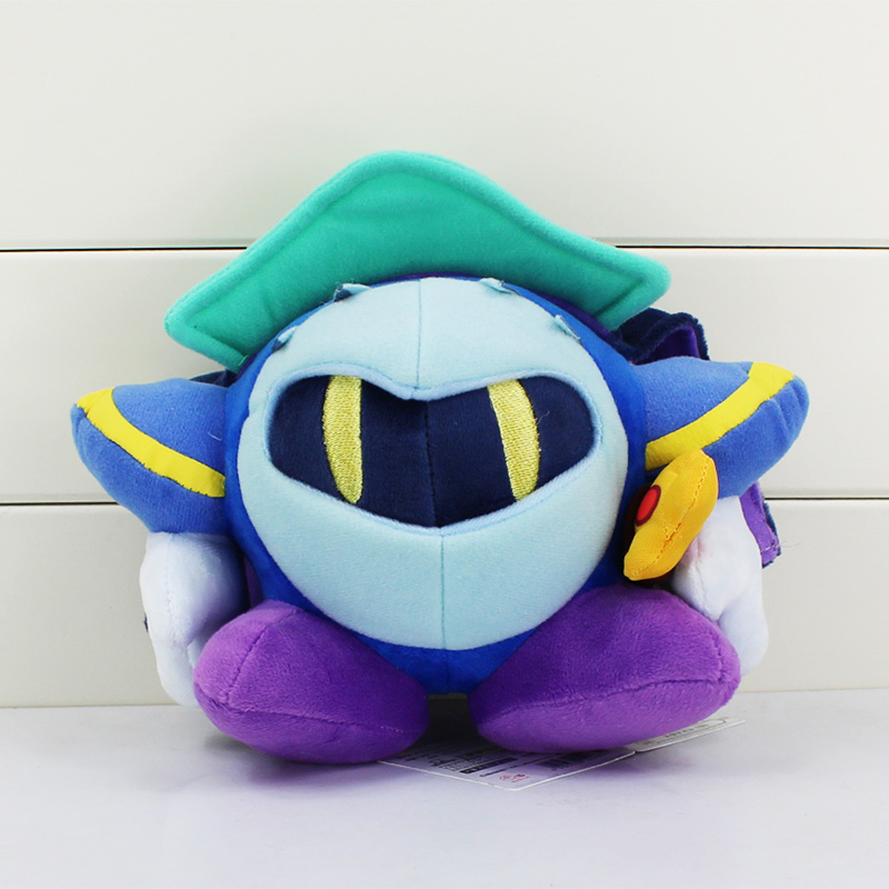 "1Pcs Anime Kirby Plush Meta Knight Stuffed Plush Toy Soft Dolls With Tag 7""18CM Great Gift For Kids(China (Mainland))"