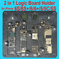 2 in 1 Motherboard Clamps High Temperature Main Logic Board PCB Fixture Holder for iPhone 5