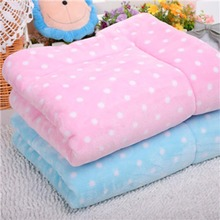 Soft Fleece Warm Pet Dog Blanket Cotton Padd Large Dog Bed Puppy Cushion Cover Cozy Towel for Air Conditioning