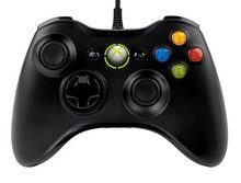 free shipping, Black USB Wired Game Controller Gamepad Joypad Joystick For Xbox 360 Slim Accessory PC Computer For Windows 7