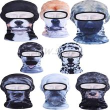 Cute Lovely Dog Animal Mask 3D Balaclava Outdoor Bicycle Cycling Motorcycle Hat Full Face Masks Sun Protection Ski Wind Dust Cap