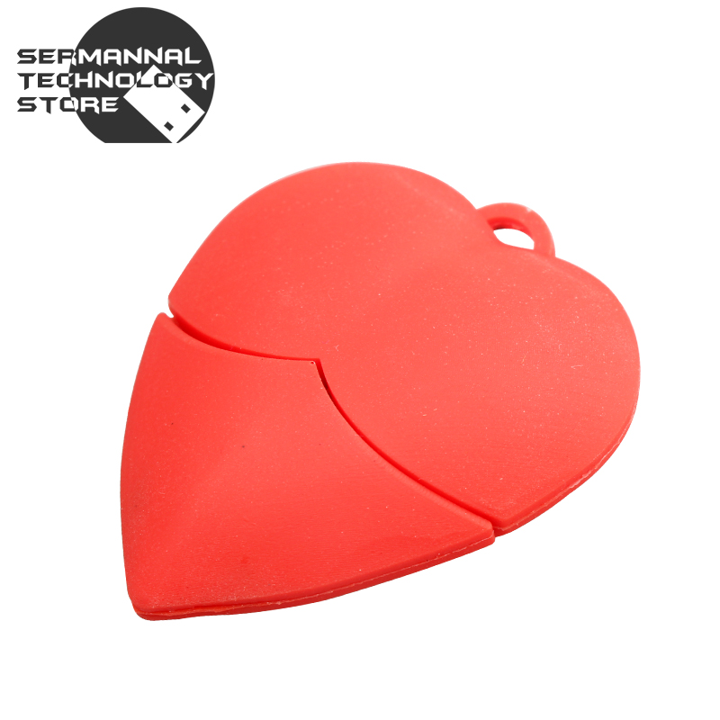 2016 Miniseas High Speed Real Capacity Usb Flash Drive Red Heart 8GB 16GB 32GB Memory Usb Stick 2.0 Pen Drive Pendrive For PC(China (Mainland))