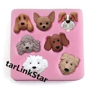 2016 Fondant Cake Decorating Tools Biscuit Baking Mold Cartoon Forest Animals Die Decoration Food Grade Liquid - Venisi Silicone mold firm store
