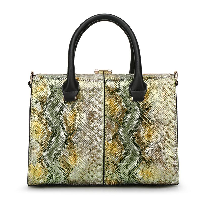Fashion Serpentine handbag Frame women handbags High quality PU leather Totes bolsas female office Shoulder bag Free shipping<br><br>Aliexpress