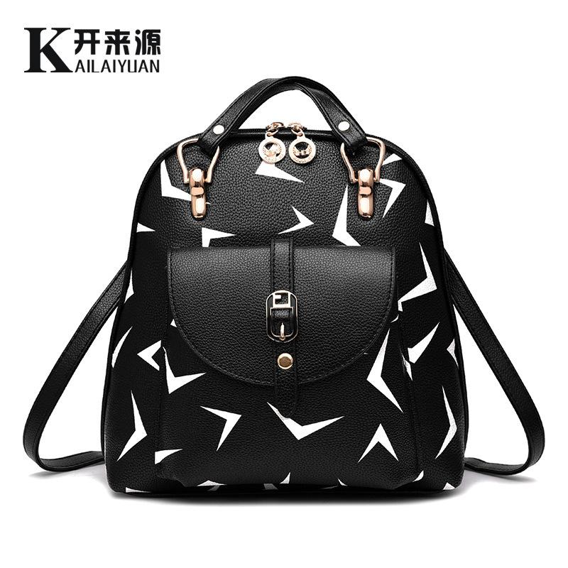 2016 Multifunctional Fashion Cute Cartoon Women Backpacks Student Eye Planes Beauty Cartoon Printing Backpack Lady Shoulder Bags(China (Mainland))