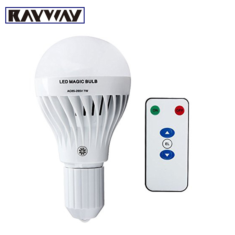 High Quality Factory Supply Dimmable E27 Emergency Light Bulb Multifunction 7W E27 Rechargeable Emergency Magic Bulb Flashlight(China (Mainland))