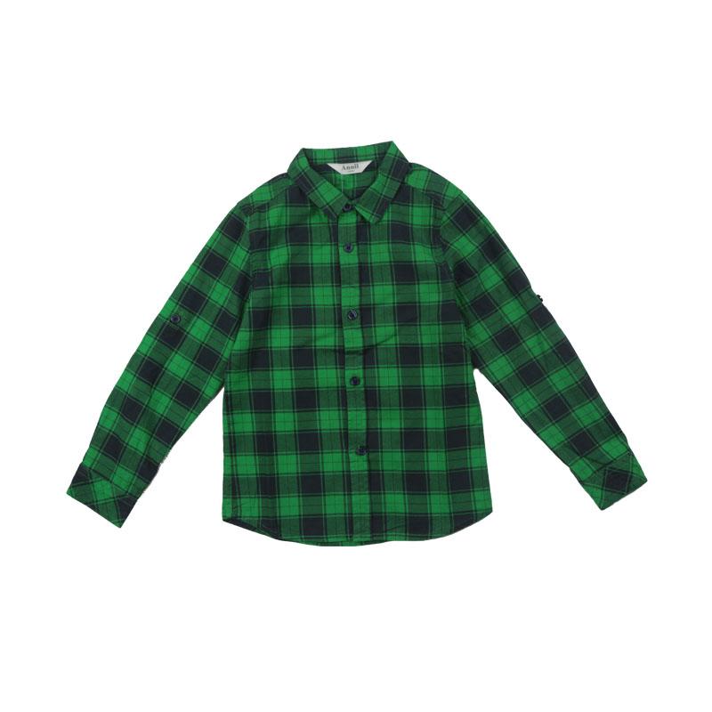 Annils 2015 new autumn boy Lapel long sleeved shirt shirt AB531505 counter genuine three colors 100% cotton<br><br>Aliexpress