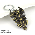 Game Diablo III 3 Logo Metal Keychain Jinx Blizzard Key Chains Reaper of Souls Expansion Keychains